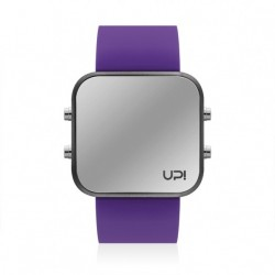 CEAS UPWATCH LED MATTE BLACK&PURPLE