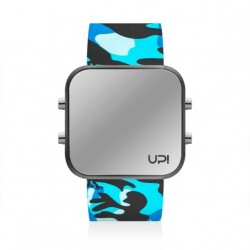 CEAS UPWATCH LED MATTE BLACK& BLUE CAMOUFLAGE