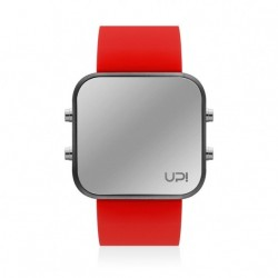 CEAS UPWATCH LED MATTE BLACK&RED