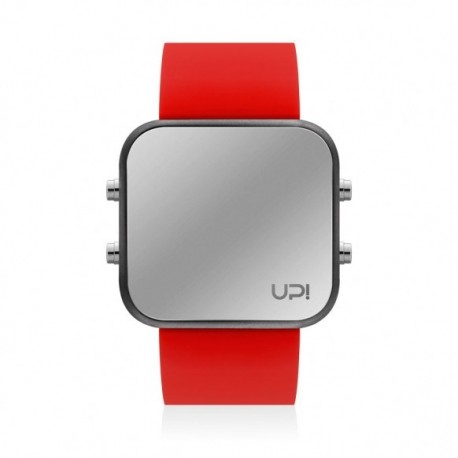CEAS UPWATCH LED MATTE BLACK&RED