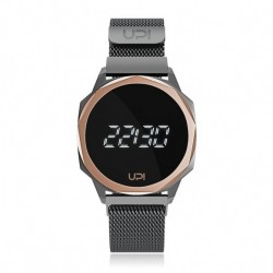CEAS UNISEX UPWATCH ICON GRI GUN METAL