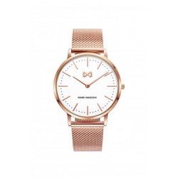 CEAS DE DAMA MARK MADDOX ROSE GOLD CUREA METALICA