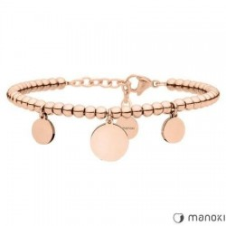 BRATARA DE DAMA MANOKI PLACATA ROSE GOLD