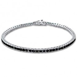 Bratara Tenis Argint 925 Rodiat Cubic Zirconia Diamond