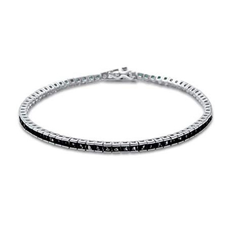 Bratara Tennis Argint 925 Rodiat Cubic Zirconia Diamond
