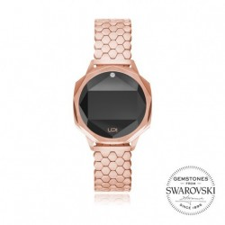 CEAS DE DAMA UPWATCH ICONIC ROSE GOLD CU DIAMANT TOPAZ SWAROVSKI
