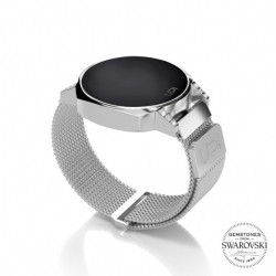 CEAS UPWATCH NEXT MINI SILVER SWAROVSKI® TOPAZ
