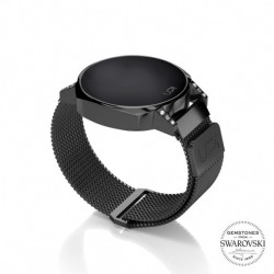 CEAS UPWATCH NEXT MINI BLACK SWAROVSKI® TOPAZ