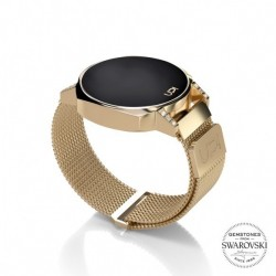 CEAS UPWATCH NEXT MINI GOLD SWAROVSKI® TOPAZ