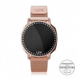 CEAS DE DAMA UPWATCH NEXT SWAN ROSE GOLD SWAROVSKI® ZIRCONIA