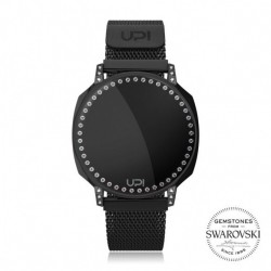 CEAS DE DAMA UPWATCH NEXT SWAN BIG BLACK SWAROVSKI® ZIRCONIA