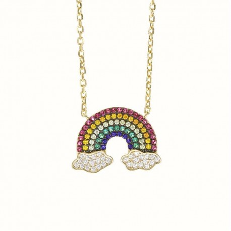 """COLIER """" BE A RAINBOW IS SOMEONE ELSE'S CLOUD"""